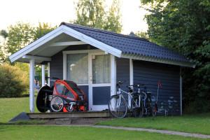 Hütte Campingplatz