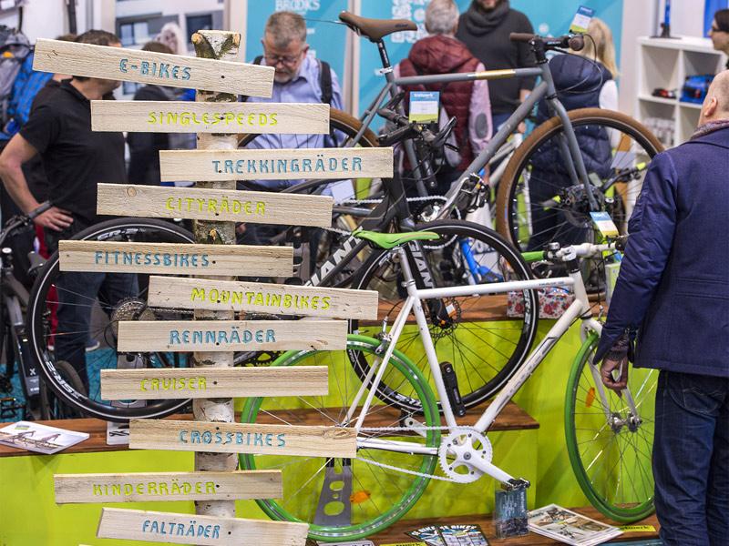 Fahrrad-Messe in Essen läutet die neue Saison ein