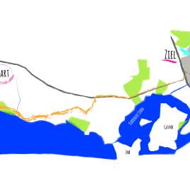 Dänemark: Von Bisserup nach Næstved (20 km)
